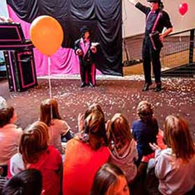 magic show children st nicolas